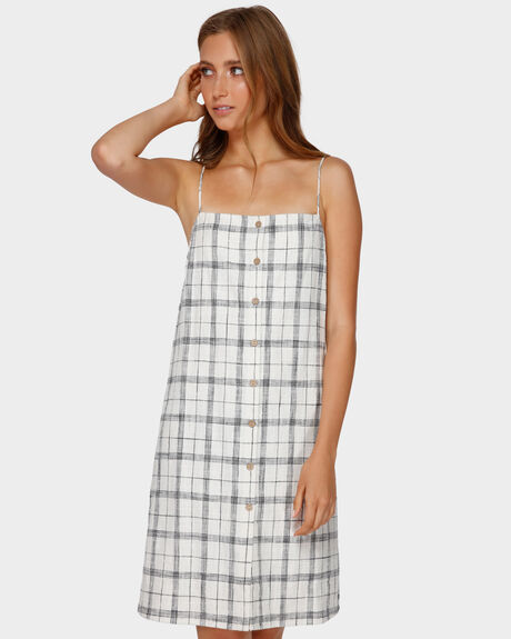 WILLOW CHECK DRESS