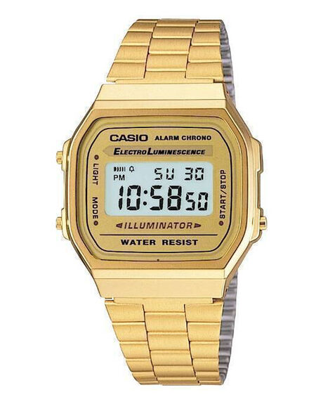 CLASSIC - GOLD DIGITAL - A168WG-9W