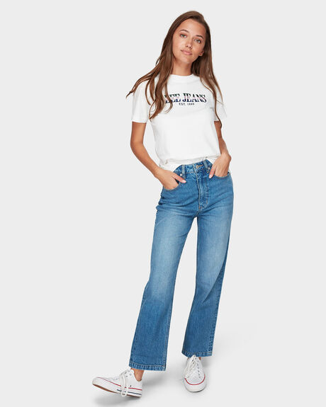HIGH STRAIGHT JEANS