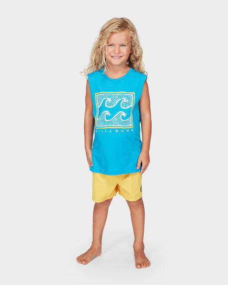 GROMS FULL FROTH MUSCLE TEE