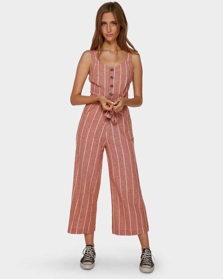 CROSSFIRE STRIPE JUMPSUIT