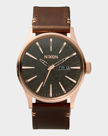THE SENTRY LEATHER WATCH