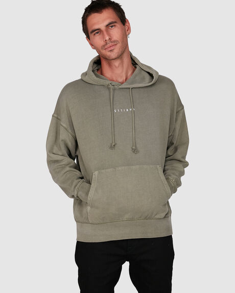 MENS MINIMAL THRILLS SLOUCH PULL ON HOOD