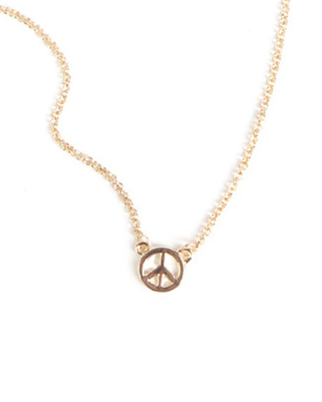 SMALL PEACE NECKLACE
