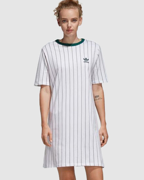 TEE DRESS - STRIPE