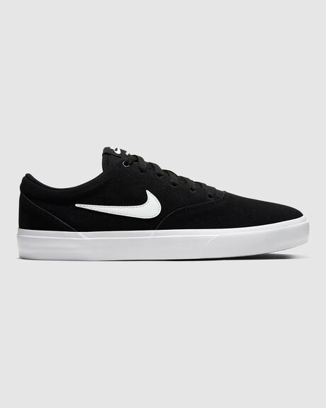 NIKE SB CHARGE SUEDE BLK/WHT