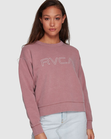 RVCA KEYLINE PIGMENT CREW