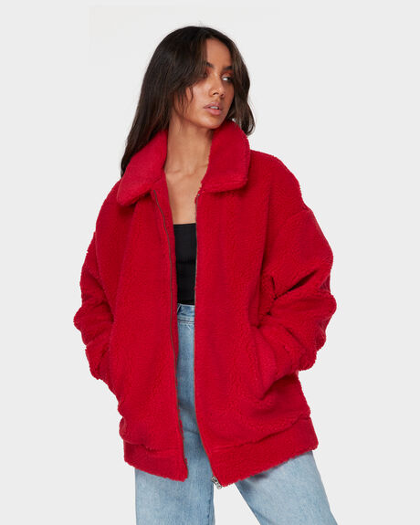 CECELIA JACKET RED