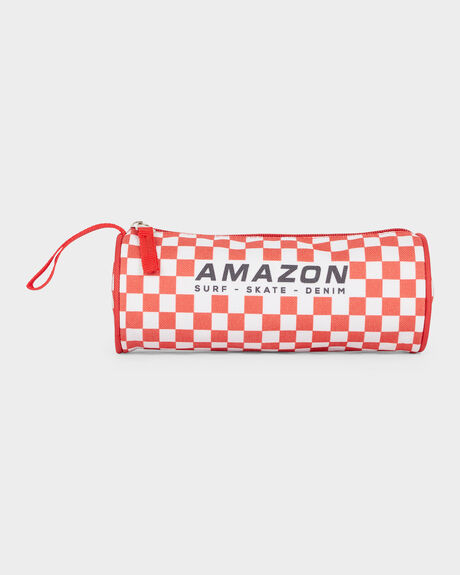 CHECKER PENCIL CASE