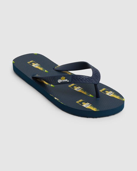 CORONA BLEND BOTTLO NAVY YELLOW
