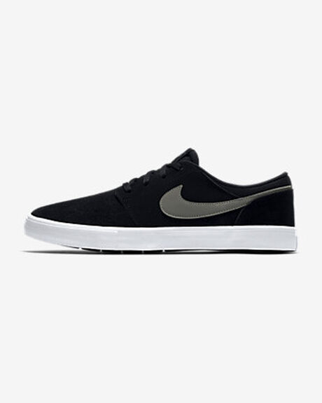 3818c4d948 Black dark Grey-whit NIKE SB SOLARSOFT PORTMORE II CANVAS