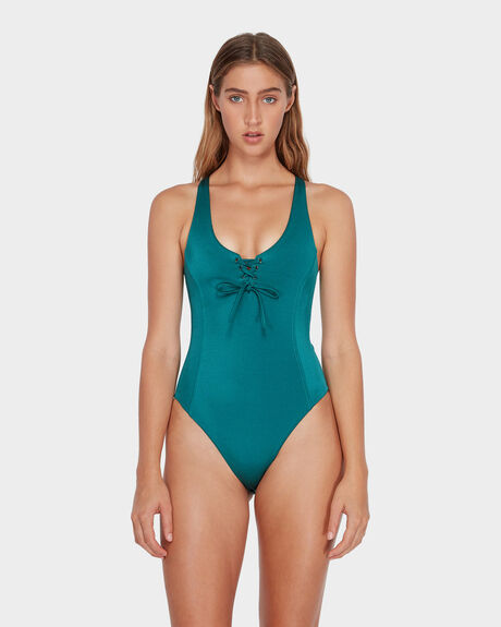 SOLID SHIMMER ONE PIECE
