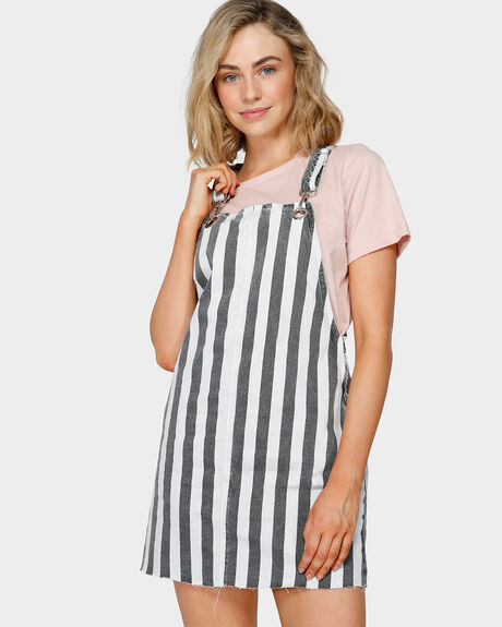 PIPPIE STRIPE DRESS