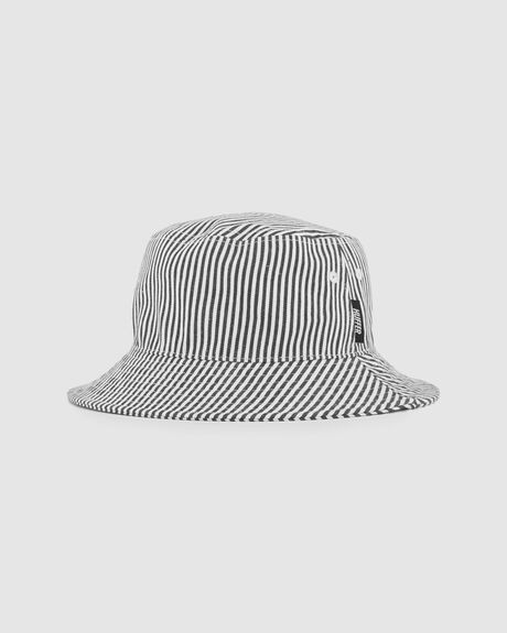 PINSTRIPE BUCKET HAT