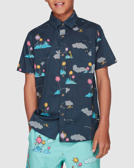 DR. SEUSS LORAX ISLAND SHORT SLEEVE SHIRT