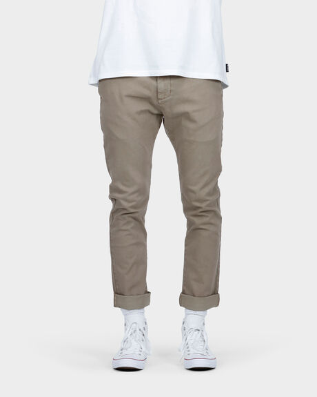 NEW ORDER CHINO ROLL UP PANT