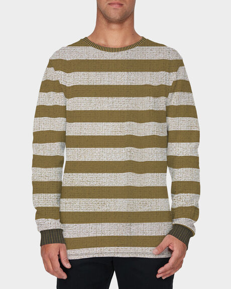 FOCUS STRIPE LONG SLEEVE TEE