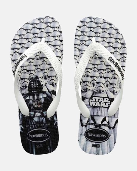 KIDS STAR WARS WHITE/WHITE