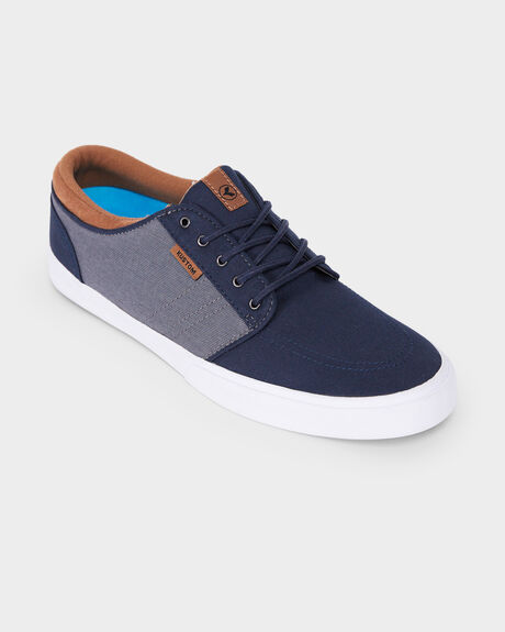 KUSTOM REMARK 2 NAVY GREY SHOE