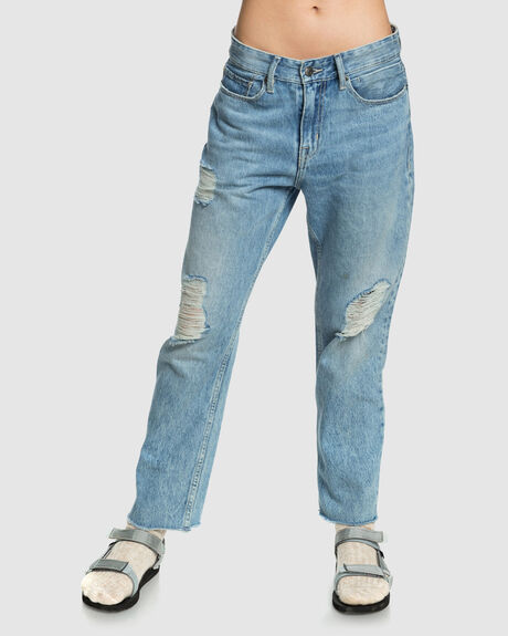 UP SIZE PANT BLUE RIP