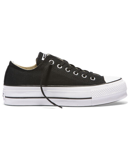 CT LIFT CANVAS LOW BLK