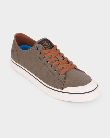 KUSTOM SLIM VULC ARMY SHOE