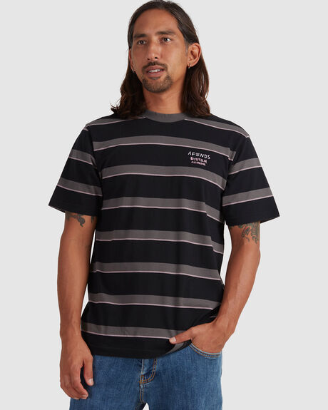 FIGHT STRIPE - RETRO FIT TEE -