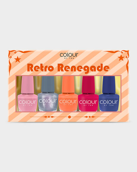 COLOUR BY TBN RETRO RENEGADE NAIL KITS