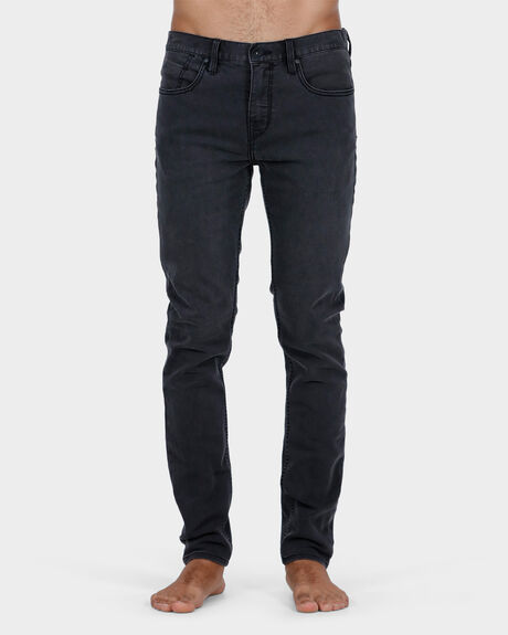 SLICK'R TAPERED WORN JEAN