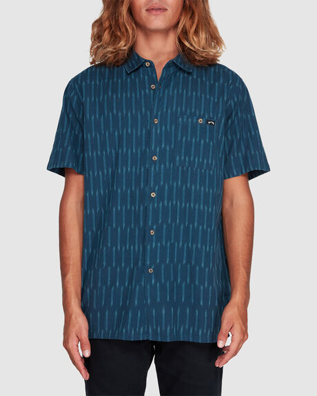 SUNDAYS JACQUARD SHORT SLEEVE SHIRT