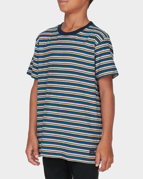 DIE CUT STRIPE TEE