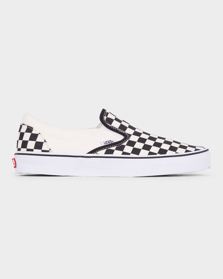 b46510c8b6258e Black And White Chec VANS CLASSIC SLIP ON BLACK WHITE CHECK SHOE ...
