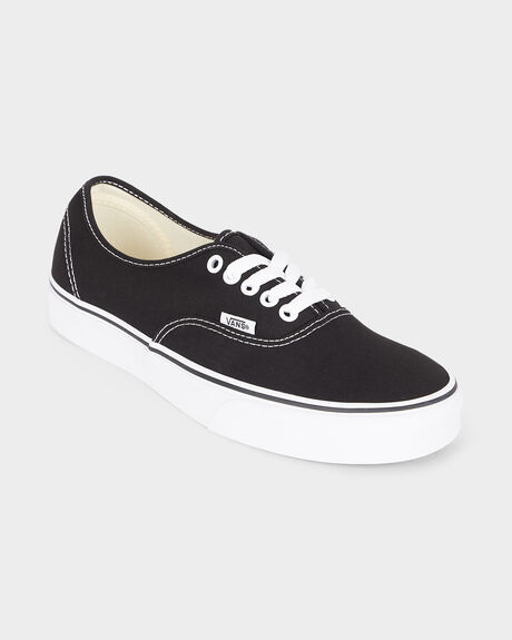 fbe1112e58f1d0 AUTHENTIC VANS BLACK WHITE SHOE