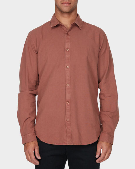 CRUSHED LONG SLEEVE SHIRT