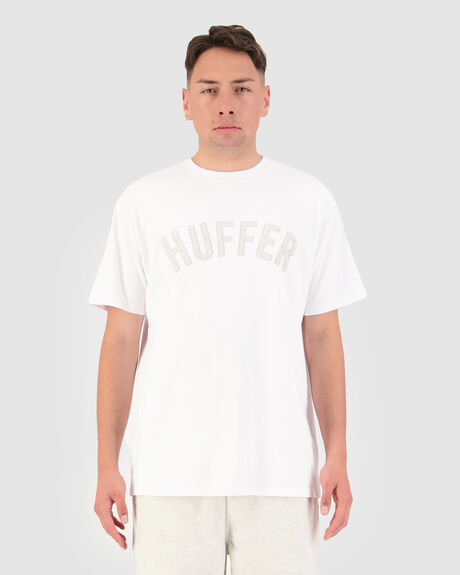 LOOPED APPLIQUE SUP TEE