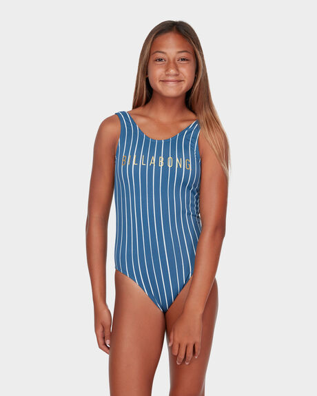 INDIGO STRIPE ONE PIECE