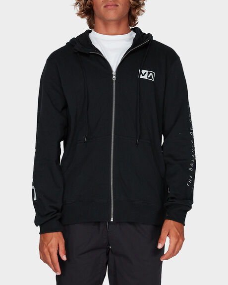 BALANCE REFLECT ZIP THROUGH HOODIE