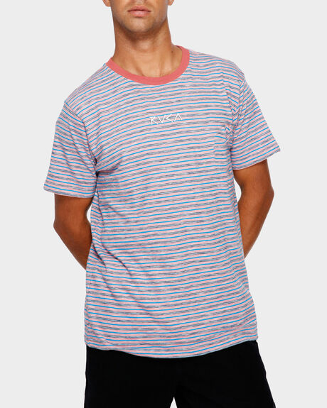 FOZ STRIPE SHORT SLEEVE TEE