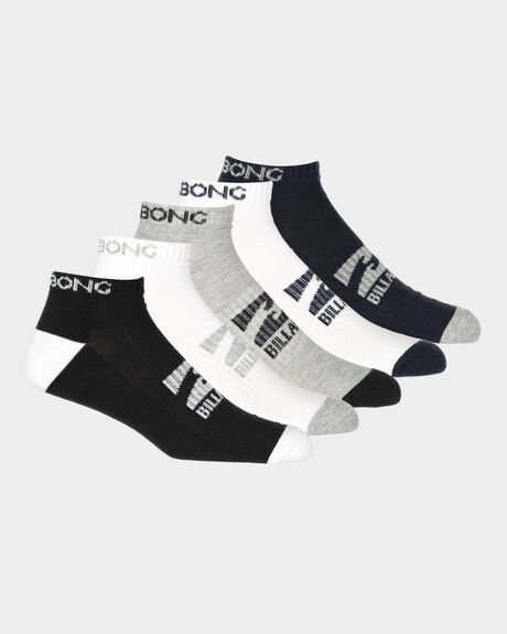 ANKLE SOCKS 5 PACK STANDARD