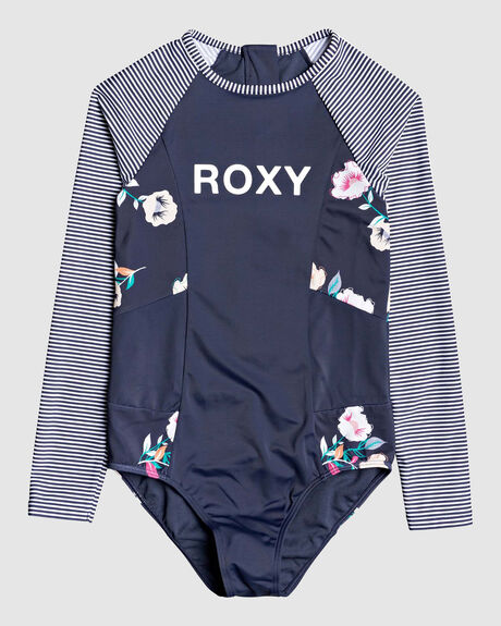 GIRLS 8-14 LETS GET SALTY LONG SLEEVED UPF 50 ONESIE