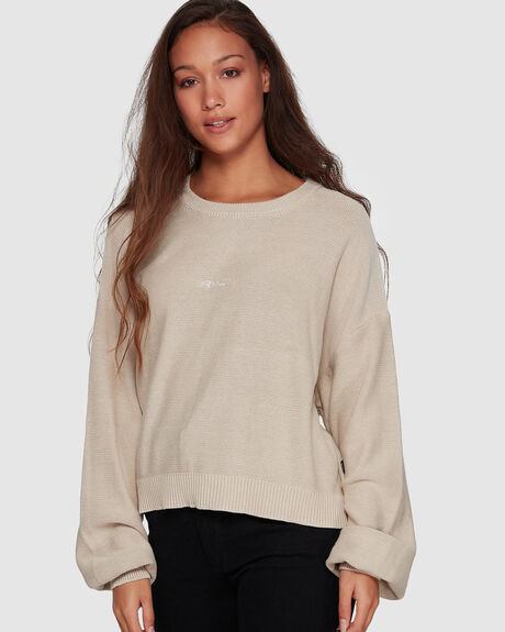 SLOUCHY PIGMENT KNIT