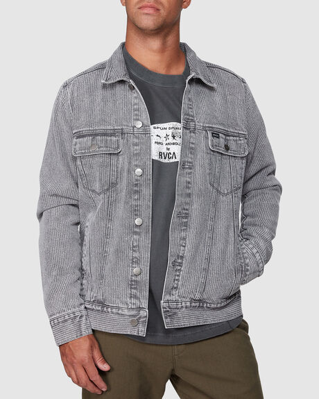 DAGGERS DENIM STRIPE JACKET