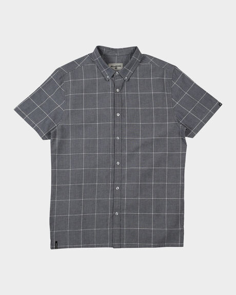 ALL DAY OXFORD CHECK SS SHIRT
