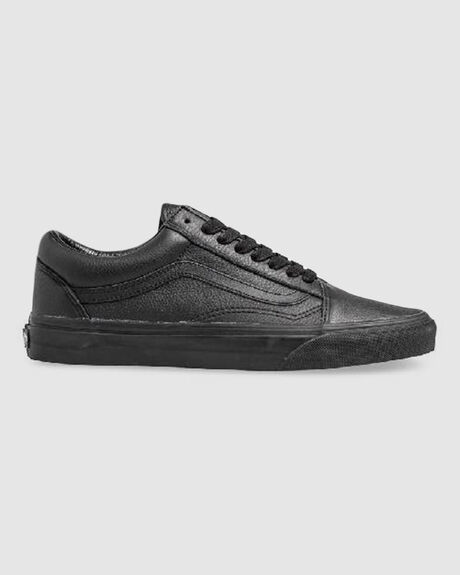 OLD SKOOL LEATHER BLACK