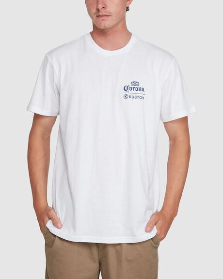 CORONA EXTRA TEE WHITE