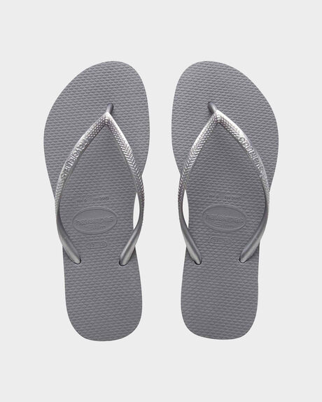 SLIM BASIC GREY THONGS