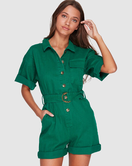 BELT UP JUMPSUIT