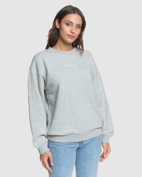 WOMENS HIGH ON THE LINE OVERSIZED CREW JUMPER