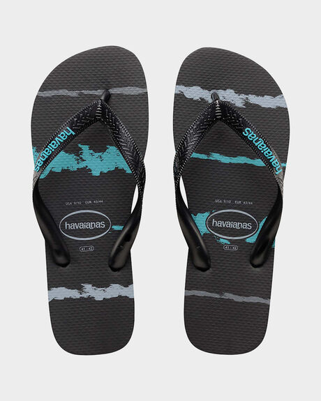 TROPICAL GLITCH BLACK/BLUE