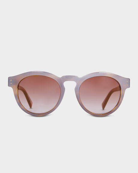 DITTY FROSTED TORT SUNGLASSES